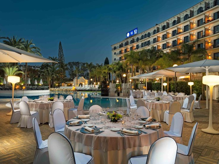Banquete en la Terraza del Hotel #h10andaluciaplaza #andaluciaplaza #h10hotels #h10 #hotels #hotel