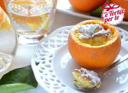 Ecco uno splendido dolcetto #glutenfree: Souffle' nell'arancia.   Un #dessert profumato e dolcissimo, un perfetto mix di gusto e bontà.  Clicca e scopri la ricetta...