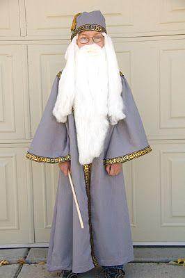 Easy Dumbledore costume!!