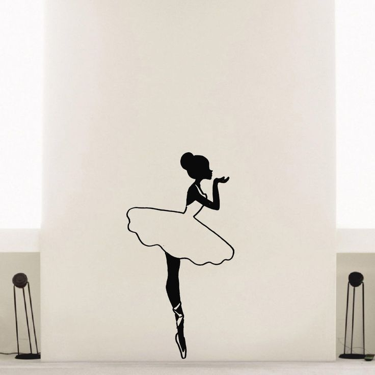 how to draw an easy ballerina