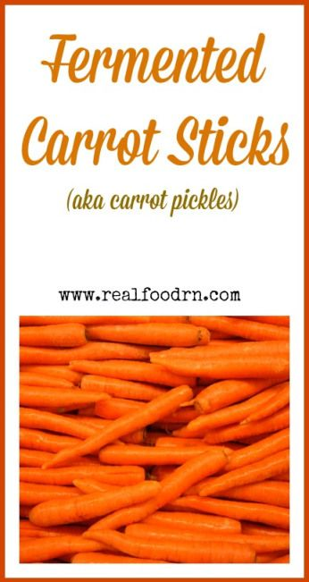 Fermented Carrot Sticks, aka carrot pickles. These make a wonderful, healthy, crunchy snack. Kids love them too, and they also love to help make them!