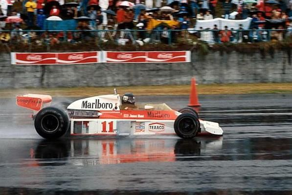 """Como foi de verdade o final do filme """"RUSH""""w Veja o compacto do GP do Japão de 1976"""