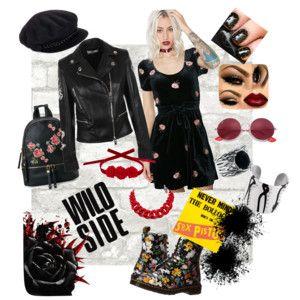 I´m the wild one - Jsem ta divoška - styling pro holky s duší rockerky