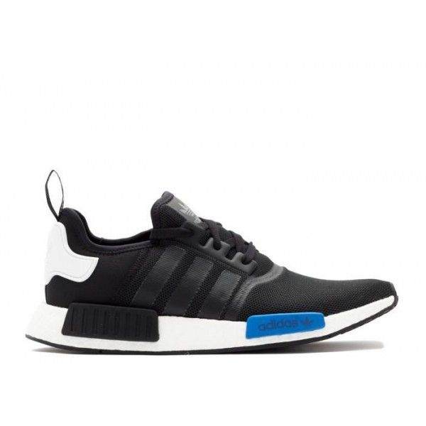 cheap adidas mens black white blue originals runner - authentic adidas nmd  runner for sale