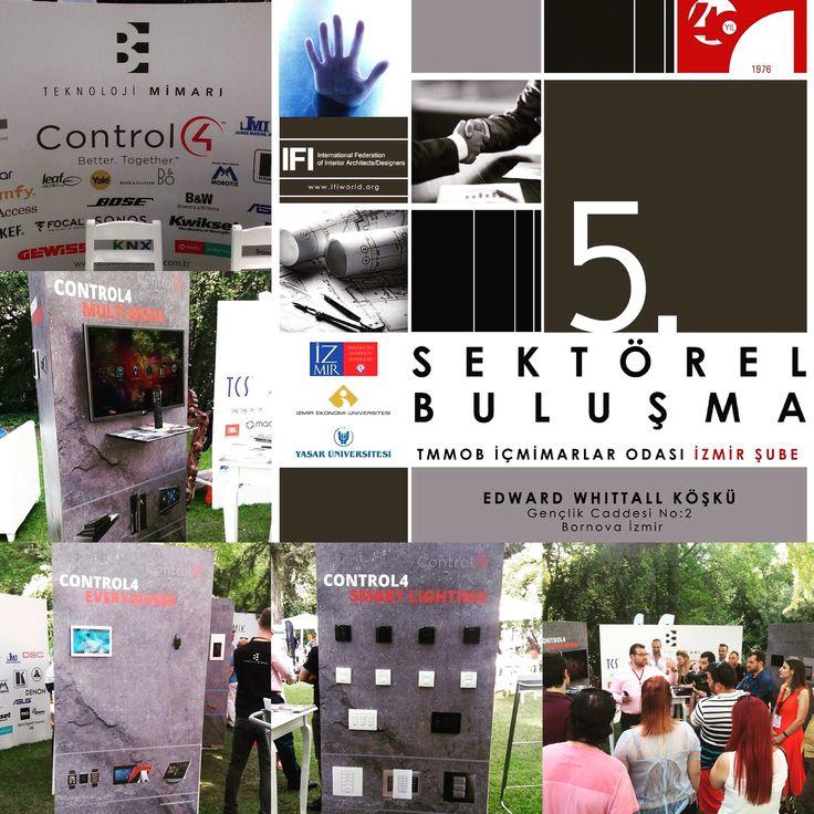 İç Mimarlar Odası 5. Sektörel Buluşma İzmir Şube'nin etkinliğinde Bayimiz ErBa Otomasyon Teknolojileri Control4 standında büyük ilgiyle karşılandı.