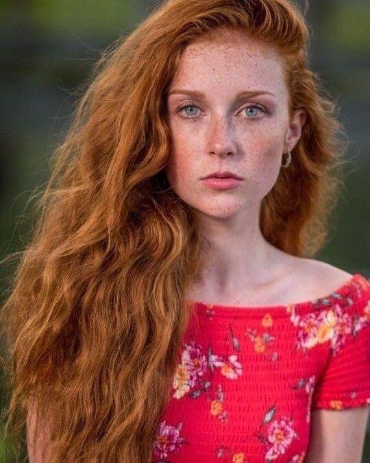 Firey bush redhead