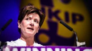 Diane James former UKIP leader quits party