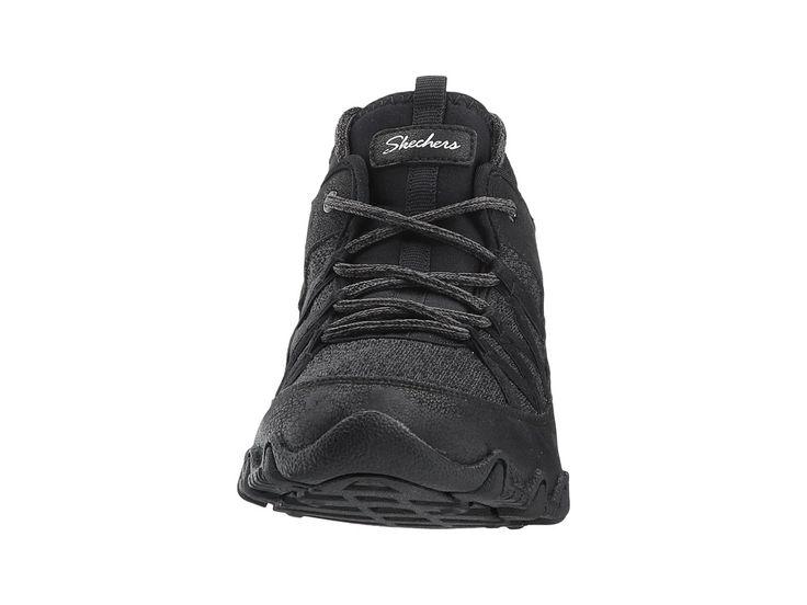SKECHERS Bikers - Bold Step Women's Shoes Black