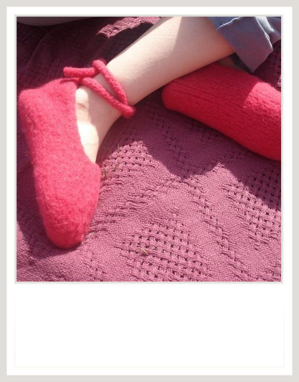 Free Knitting Pattern: Felted Slipper