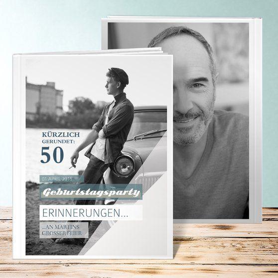 Sommerleicht 50 Geburtstag Fotobuch