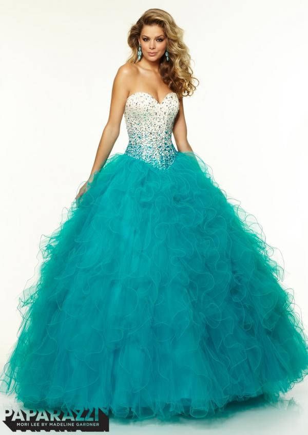 17 Best images about Ball Gown Prom Dresses on Pinterest | Mori ...