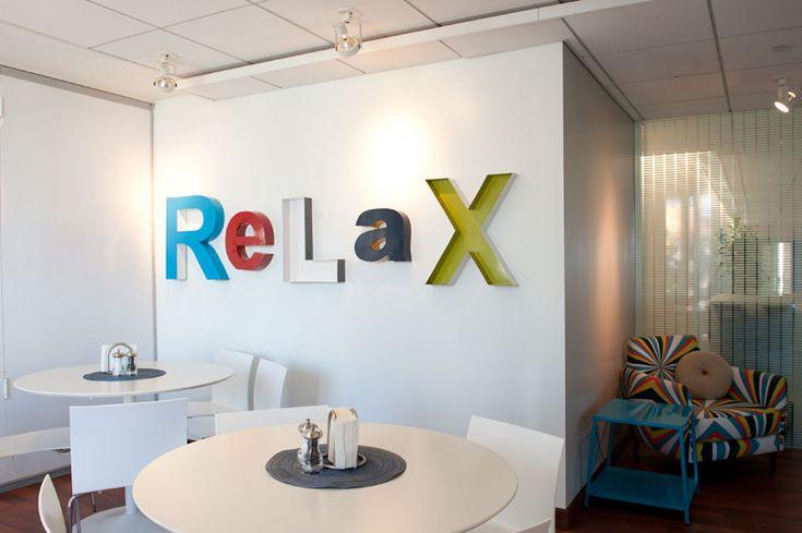 La Office Employee Lounge Work Pinterest