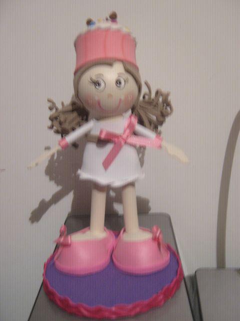 muñeca cupcake vainilla