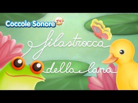 Filastrocca della Lana - Canzoni per bambini di Coccole Sonore - YouTube
