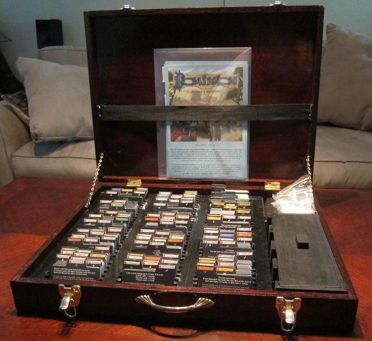 My take on the Dominion storage box   Dominion   BoardGameGeek