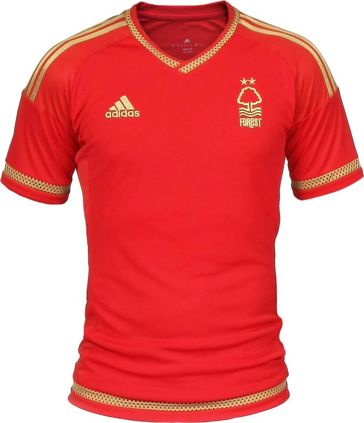 Nottingham Forest home kit