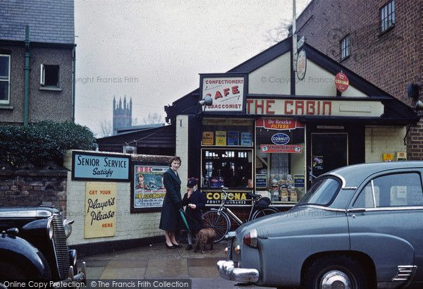 Wealdstone, The Cabin, Graham Road 1960 (The building is still there looking on Google Map street view)