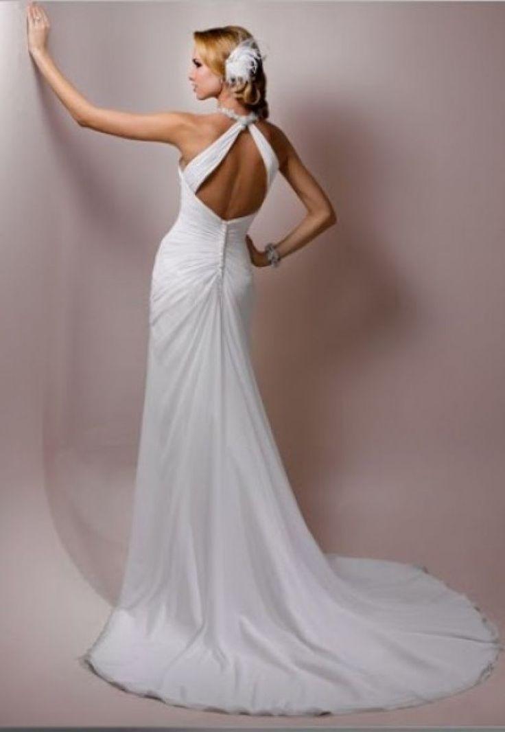 Cele mai frumoase rochii de mireasa cu spatele gol