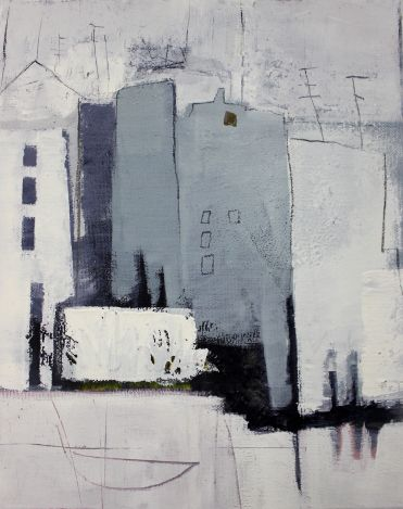 Städte – abstrakte Kunst, abstrakte Malerei – Con…