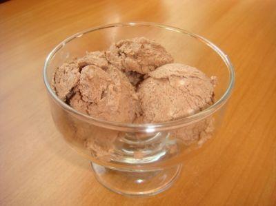 Шоколадное мороженое : Мороженое