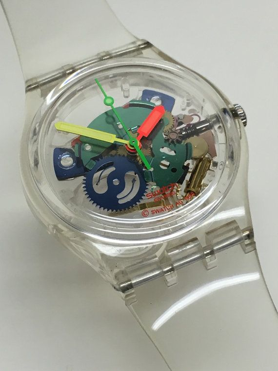 Swatch Watch Jelly Piano GZ159 by ThatIsSoFunny on Etsy