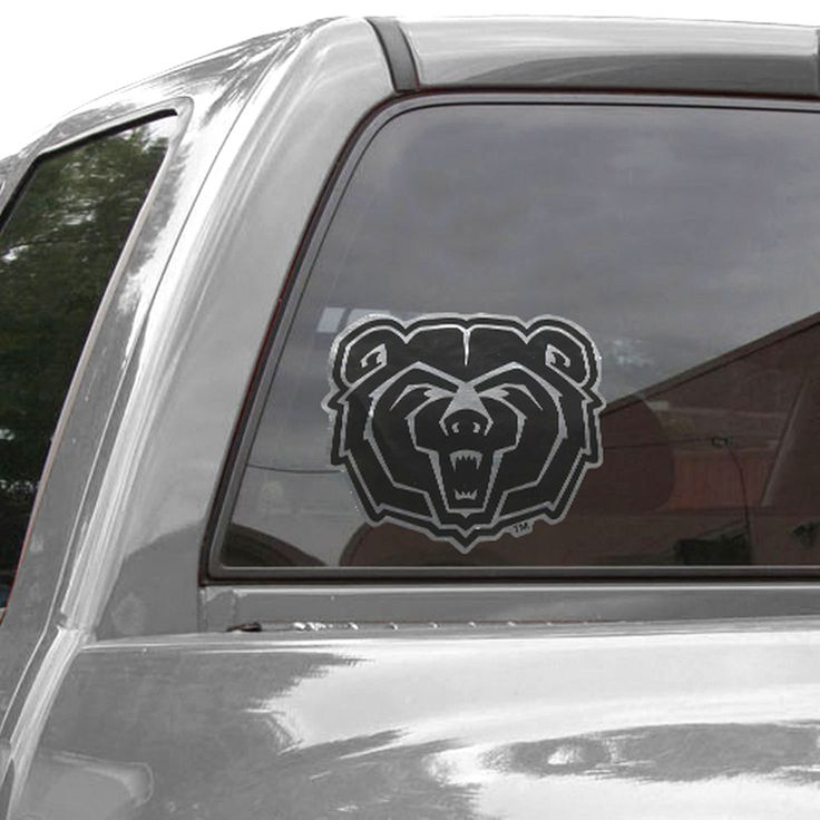Missouri State University Bears 12'' Metallic Car Decal - $11.99