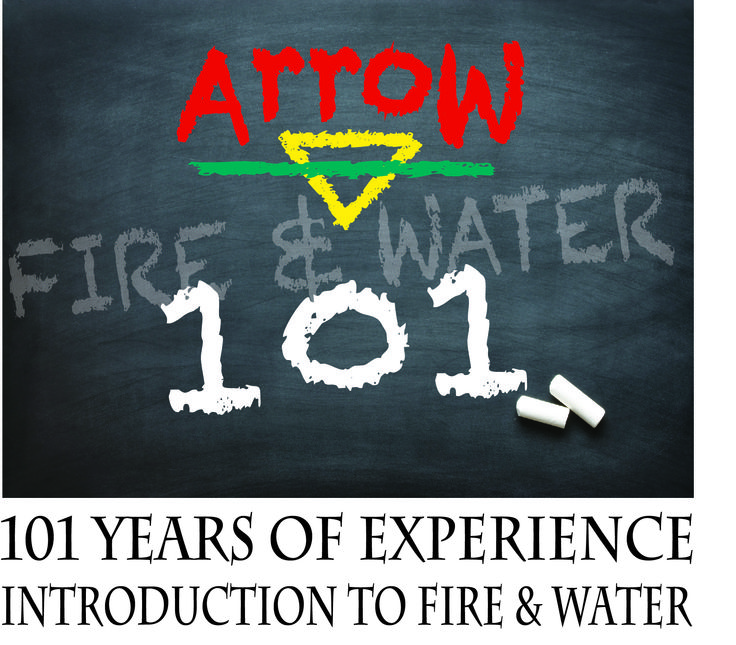 After the unimaginable happens, why trust Arrow with your fire & water restoration  On the scene of fire damage, smoke damage and water damage, we will be there and care.