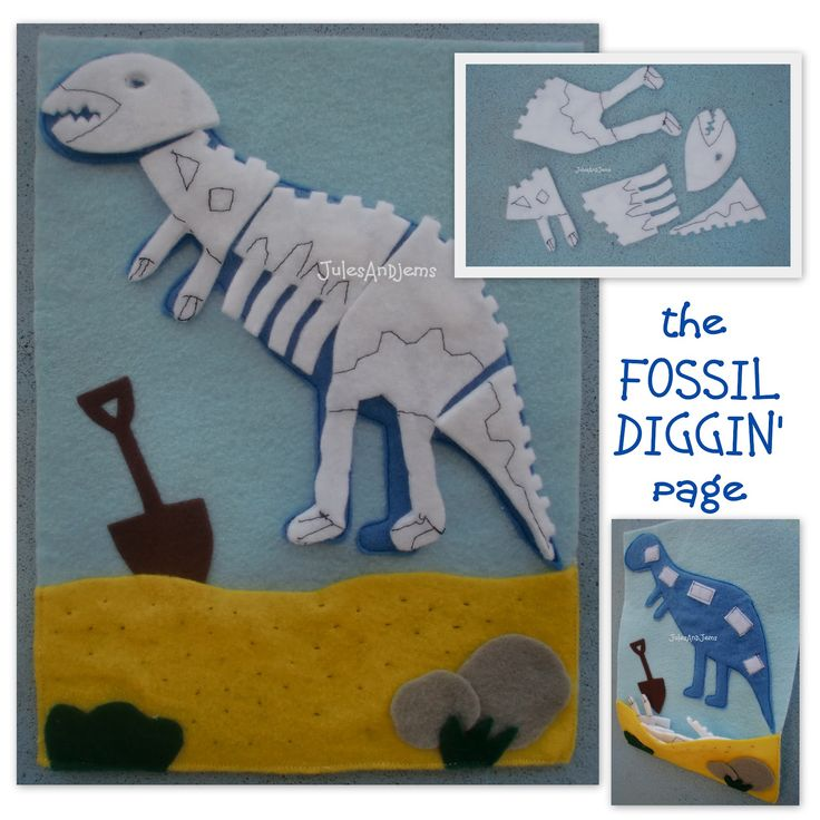 Jules And Jems: the FOSSIL DIGGIN' page