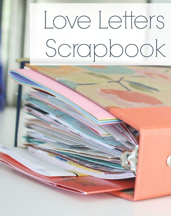 Keep tickets, trinkets and love notes all in one scrap book #scrapbook