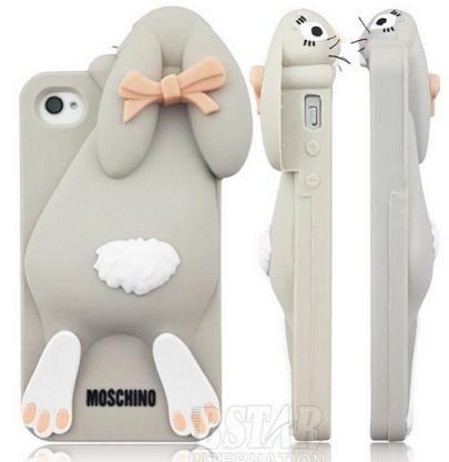 Funda para iPhone de Moschino - Conejito