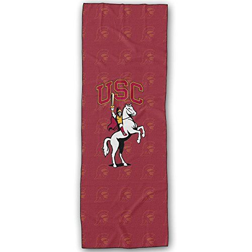 Usc Trojans Los Angeles CA Sports Teams Logo Yoga Mat Towel * Be sure to check out this helpful article.
