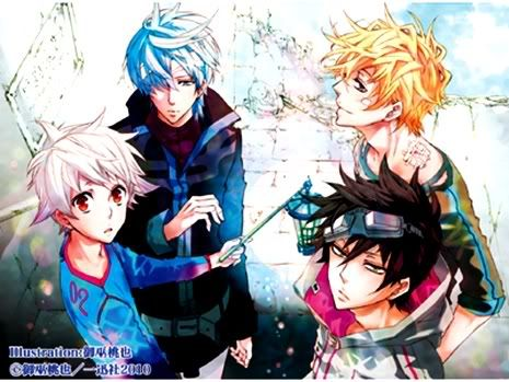 Nai, Karoku, Yogi and Gareki.