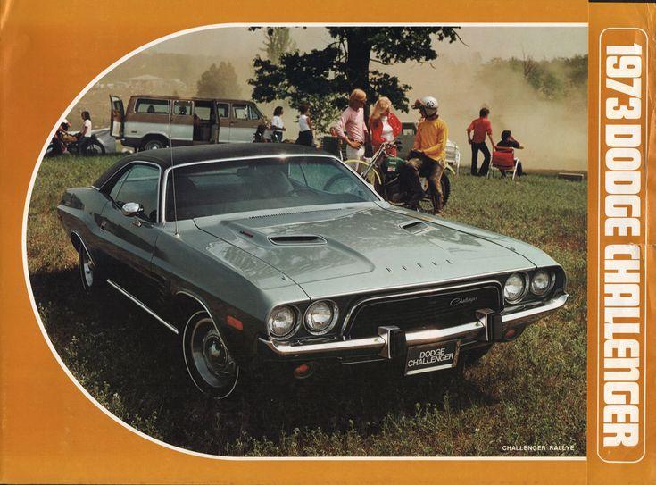 Chrysler 1973 Dodge Challenger Sales Brochure