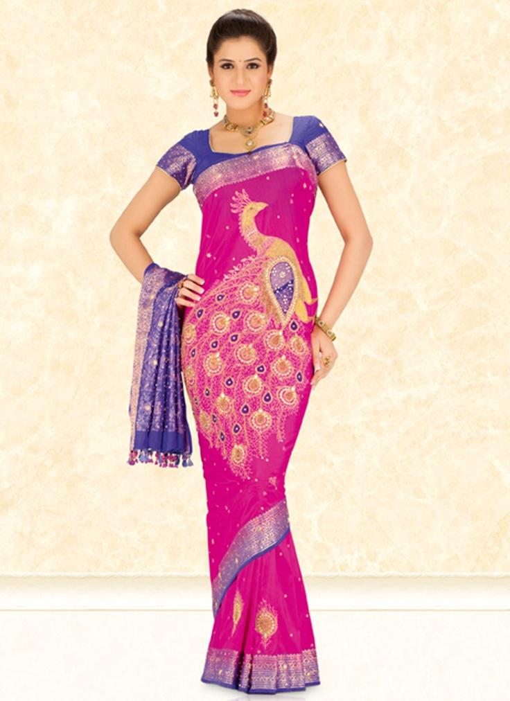 75 best PEACOCK app sari images on Pinterest   Peacock, Duke and ...