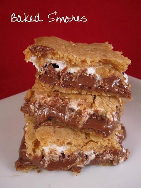 Baked S'mores!