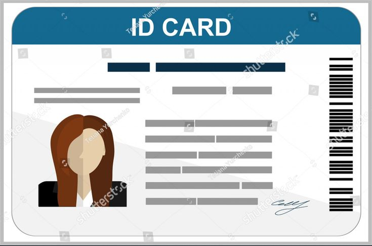 Astounding Child Id Card Template Free Ideas Download Inside Id Card Template For Kids Cumed Org In 2020 Id Card Template Card Templates Free Card Template