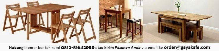 Meja Kursi Cafe - Toko Furniture Restoran di Jakarta: Jual Kayu Jati Belanda