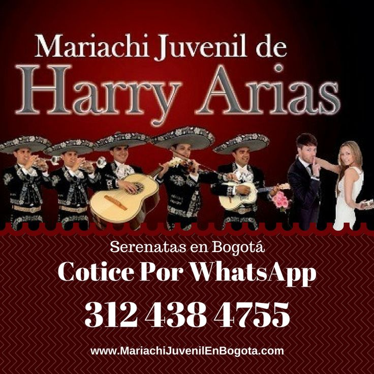Recomendamos Serenatas en Bogotá con Mariachis Cotice WhatsApp 312 438 4755 ¡Comparte! #mariachis #mariachisbogota http://mariachijuvenilenbogota.com