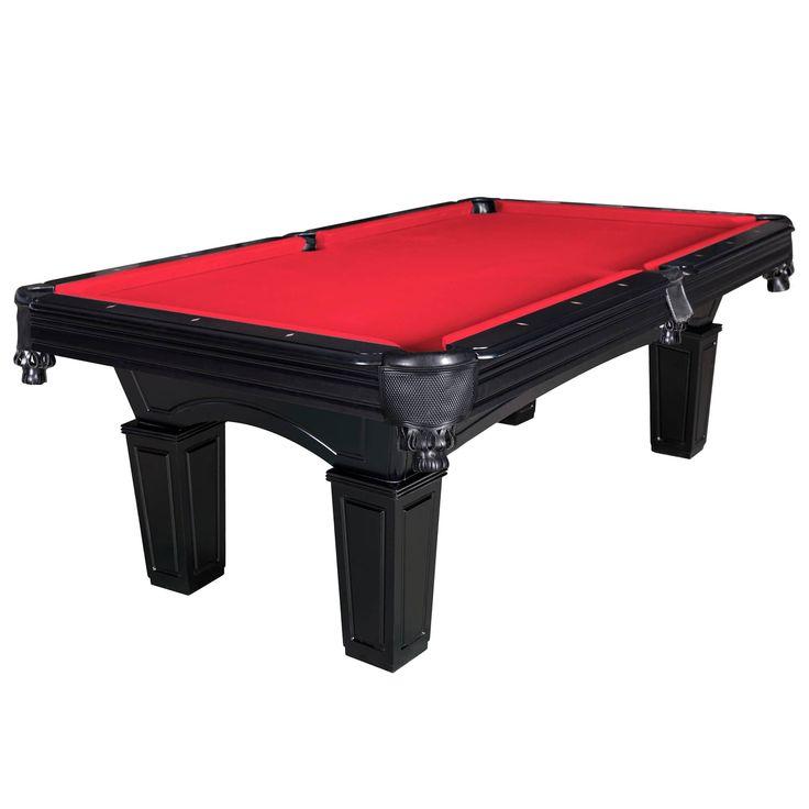 Carmelli Cobra 8-ft Slate Billiard Pool Table w/ Felt