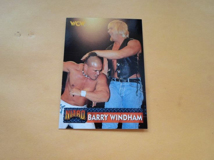 1999 TOPPS WCW NITRO BARRY WINDHAM #29