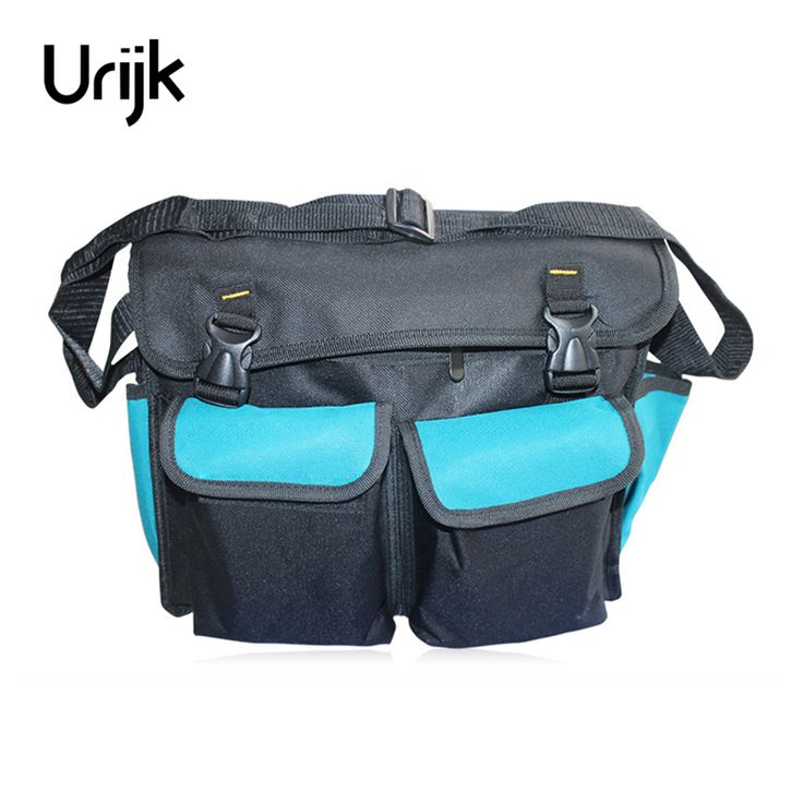 Urijk 600D Oxford Canvas Tool Bag Super Large Multifunction Repairing Tool Waterproof Wearable Thickening Velcro Safe Rucksack #Affiliate