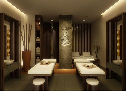 Massage room decorating ideas photos spa massageroom for Massage room interior design ideas