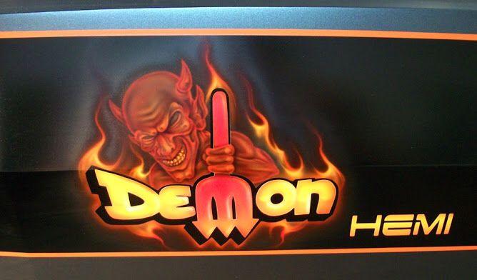 Best Tuner Cars >> Dodge Demon logo   Plymouth Duster/Dodge Demon   Pinterest ...