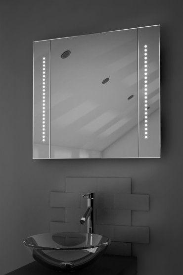 Demister Bathroom Cabinet, Mirror, Heated Bathroom Mirror - Illuminated Mirrors UK