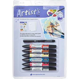 Seven Piece Aqua Markers