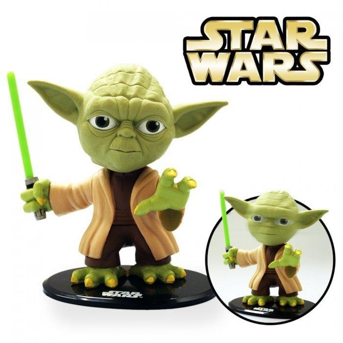 Die Meister Yoda Wackelkopffigur ist ein witzige Geschenkidee für alle Star Wars…
