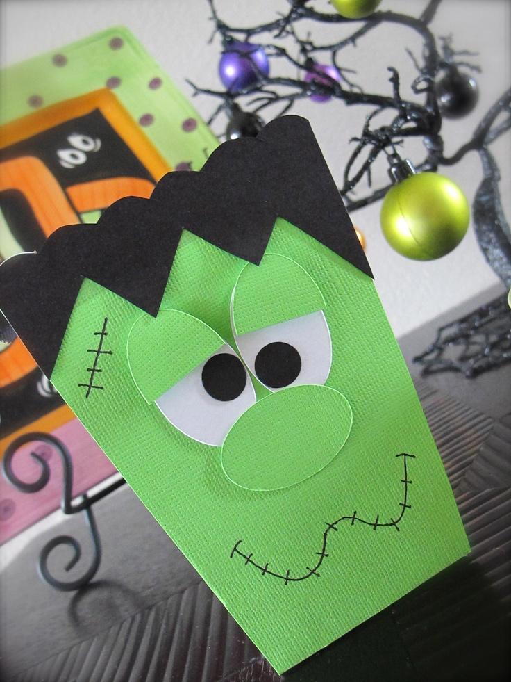 Halloween Frankenstein Favor Box