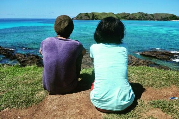 #friends #tanjungann #beach  #lombok #indonesia