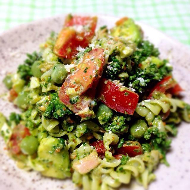 大量パセリの食べるサラダ(*´w`*) - 45件のもぐもぐ - プチプチ☆パセリのミモザサラダ by yukimon28