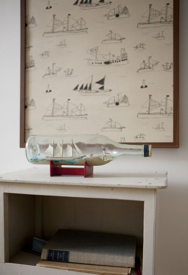 Cute for a boys room or my bathroom which is done in sail boats...